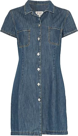 Eve Denim Chemise jeans Carlotta com botões - Azul