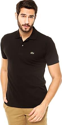 fe29e144f3bec Lacoste Camisa Polo Lacoste Classic Fit Preta