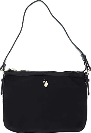 U.S.Polo Association U.S. POLO ASSN. Houston Flat Crossbody Bag Black