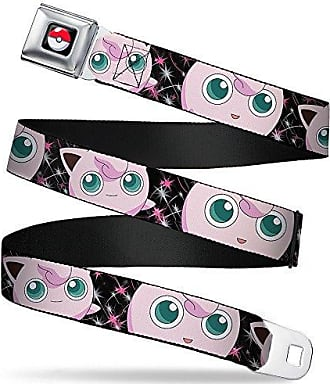 Buckle-Down Seatbelt Belt 1.0 Wide 20-36 Inches in Length Mustang PONY GIRL//Floral Collage Black//Pinks//White