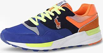 Polo Ralph Lauren Herren Sneaker mit Leder-Anteil blau