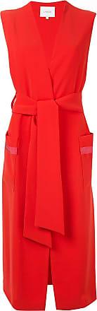 Layeur Colete com amarração - Vermelho