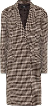 Joseph Arton checked wool-blend coat