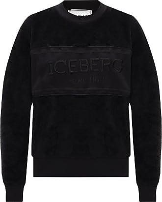 Iceberg Fleece Sweatshirt Womens Black