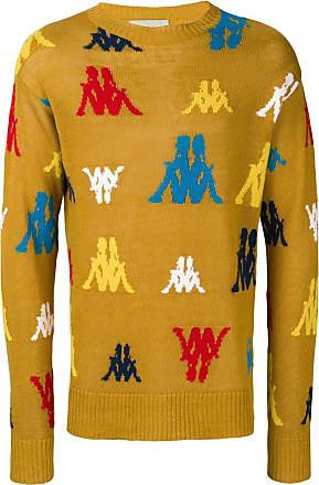 Paura Suéter decote careca - Amarelo