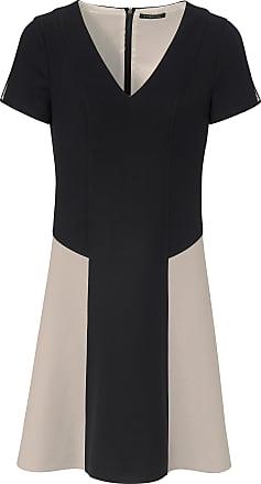 fa944dd4d75 Strenesse V-ringad klänning kort ärm från Strenesse mångfärgad