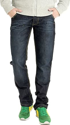 Crosshatch Jeans Denim-Comfort-Fit (Comfort Cut)-New-Darkwash WAK - Blue - 34W/32L