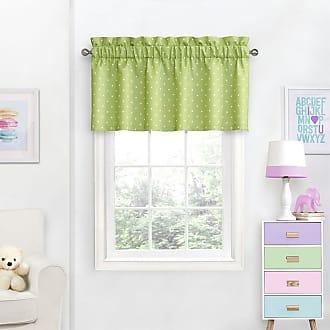 Eclipse Kids Polka Dots Blackout Curtain Valance Purple - 15452042X018PUR
