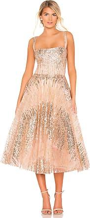 Bronx and Banco Mademoiselle Dress in Metallic Gold