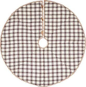 VHC Brands Holiday Decor Amory Tree Skirt, 48 Diameter
