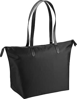 BagBase Bagbase Riviera Tote Bag (16 Litres) (One Size) (Black)