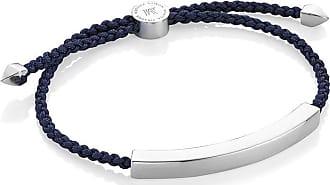 Monica Vinader Linear Large bracelet - Blue