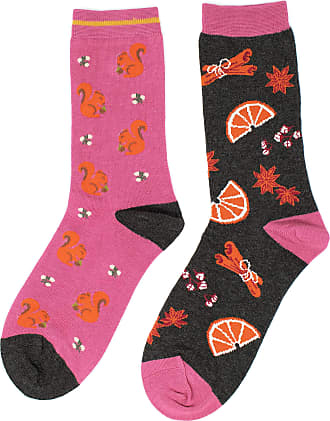 Ladies Soft Bamboo Cigno Socks Size 4-7 Berry Red by Thought Socks
