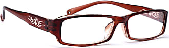 morefaz Mens Womens Original Retro Vintage +0.50 +0.75 +1.0 +1.5 +2.0 +2.5 +3.5 +4.00 Black Slim Reading glasses Unisex Design Vintage (+3.00, Brown)