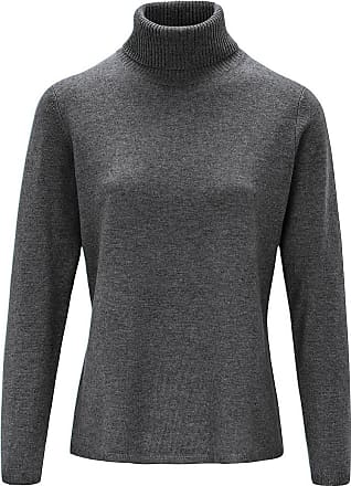 include Rollkragen-Pullover include grau