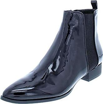 DKNY Womens talie Leather Closed Toe Ankle Fashion Boots, Black, Size 7.0 US / 5 UK US