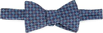 Gieves & Hawkes Papillon a trama - Di colore blu