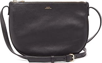 A.P.C. Maelys Leather Cross-body Bag - Womens - Black