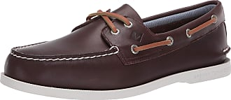 Sperry Top-Sider Sperry A/o 2 Eye Plush Washable Slip On Shoes UK 10 Brown