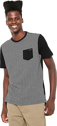 Globe Camiseta Globe Especial Chevron Preta/Branca