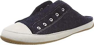 dd47bd719390d0 Living Kitzbühel Damen Pantoffel mit Ösenstick Pantoffeln Blau (Nachtblau  590) 36 EU