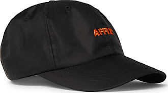 Affix Logo-embroidered Nylon Baseball Cap - Black