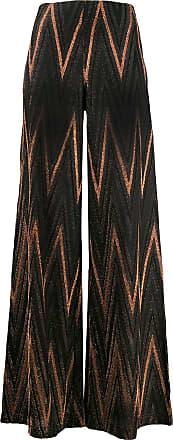 M Missoni flared trousers - Marrom