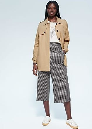 Violeta by Mango Double breasted trench