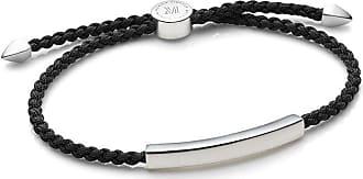 Monica Vinader Linear bracelet - Black
