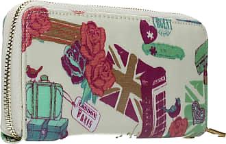 Swankyswans Kensington Holiday Inspired Print Zip around Wallet