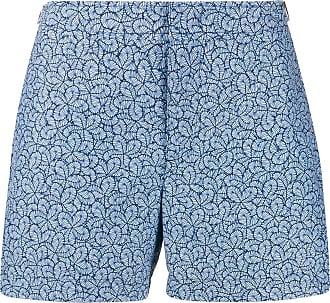 Orlebar Brown Short de natação estampado - Azul