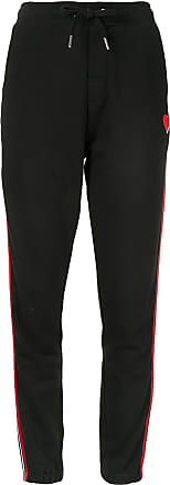 Zoe Karssen relaxed tuxedo sweatpants - Black