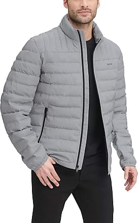 Mens Big /& Tall Size Quilted Puffere Jacket Foil Print Padded Jacket Waterproof