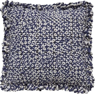 GAN Rugs Waan Kissen - blau/Füllung: Polyester/50x50cm