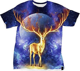 NA Fire Deer 3D Shirt