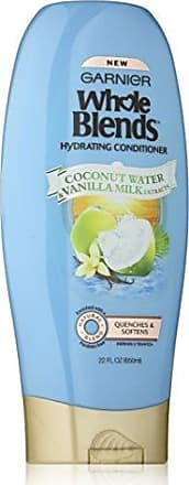Garnier Whole Blends Conditioner with Coconut Water & Vanilla Milk Extracts, 22 fl. oz