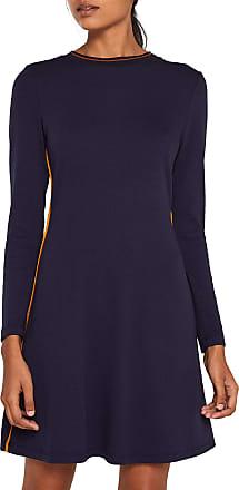 EDC by Esprit Womens 109cc1e031 Dress, Blue (Navy 400), Medium