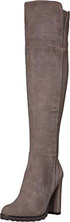 eec515970f9 Aldo Womens CAYOOSH Over The Over The Knee Boot Grey Suede 6.5 B US