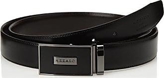 8e9db3c75495 Azzaro ZCOF682 - Ceinture - Homme - Noir (Noir Marron) - FR