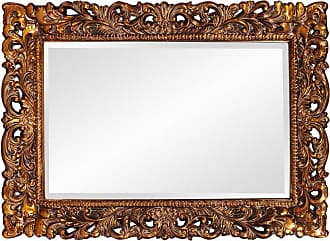 Elizabeth Austin Milan Barcelona Gold Oversized Wall Mirror - 46W x 32H in. - 2020