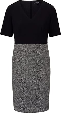 Comma Etui-Kleid langem 1/2-Arm comma, mehrfarbig