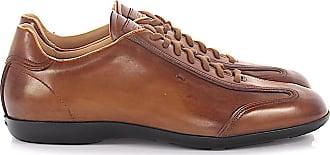 Santoni Leather Sneakers AMG 1383