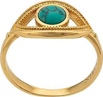 Nialaya Eye ring - GOLD