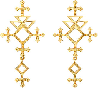 Zoe & Morgan Talitha Ohrringe Gold - one size | gold plated sterling silver | gold - Gold/Gold