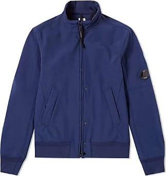 C.P. Company C.P. Firma Shell Bomber Jacke Blau - blue | 48 - Blue/Blue