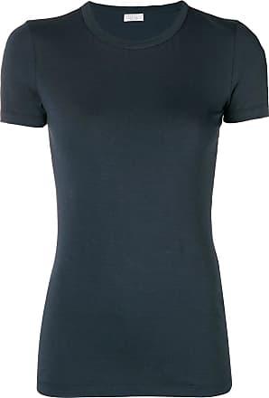 Brunello Cucinelli crew neck T-shirt - Azul