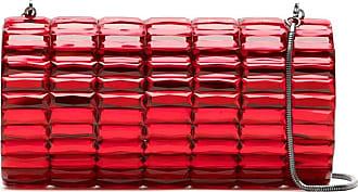Isla Bolsa clutch de aplicações - Vermelho