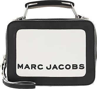 Marc Jacobs Cross Body Bags - The Colorblocked Mini Box Bag Cotton Milk - white - Cross Body Bags for ladies