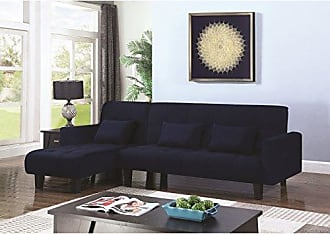 Coaster Fine Furniture 500729 Living Room Sofa Bed, Blue