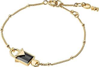 Michael Kors MKC1041AM710 Padlock Bracelet Gold
